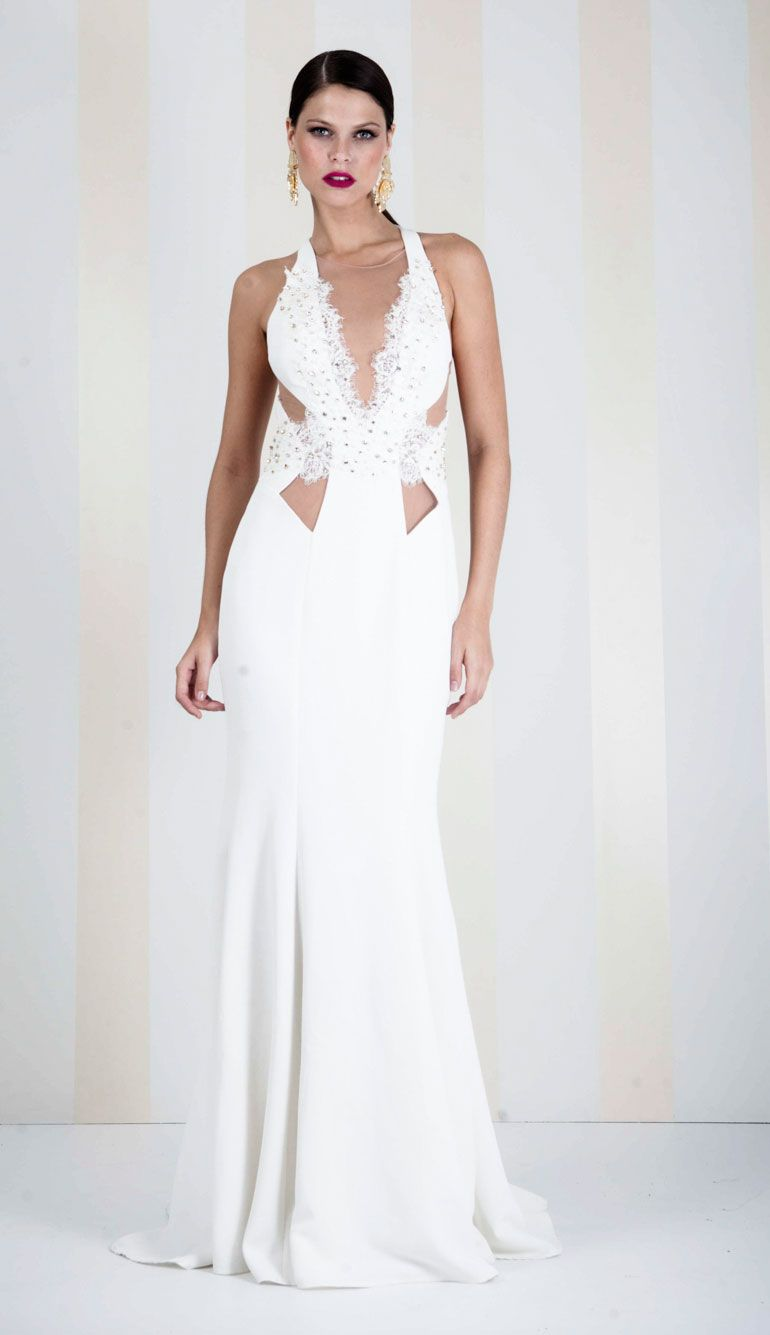 VESTIDO BIASES OFF WHITE LONGO - VE20198-99   Skazi e Skclub, Moda feminina, roupa casual, vestidos, saias, mulher moderna