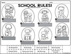 School Rules {Social Studies Reader} for First Grade ...