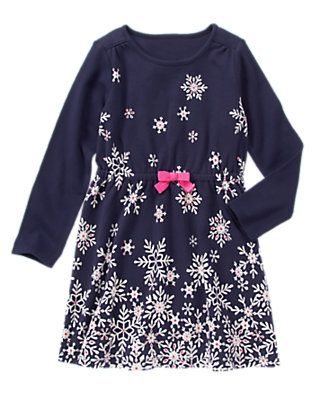 3898b71a04508 Snowflake Dress My Little Girl, Gymboree, Kid Styles, Christmas Snowflakes,  Cute Outfits