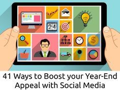 41 Ways to Boost Your Year-End Appeal with Social Media by John Haydon via slideshare