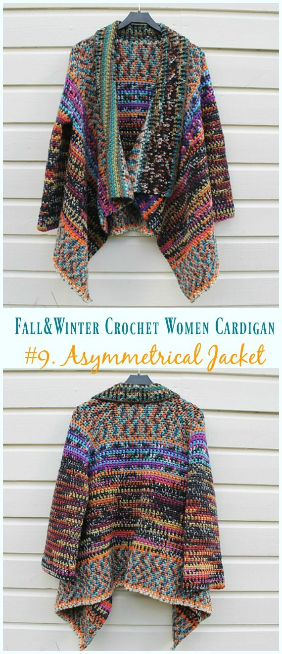 Fall Amp Winter Women Cardigan Free Crochet Patterns