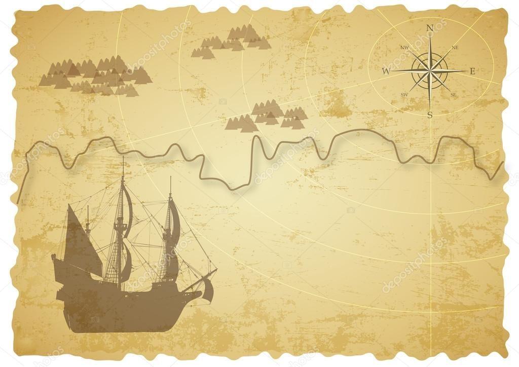 Blank Treasure Map Template from i.pinimg.com