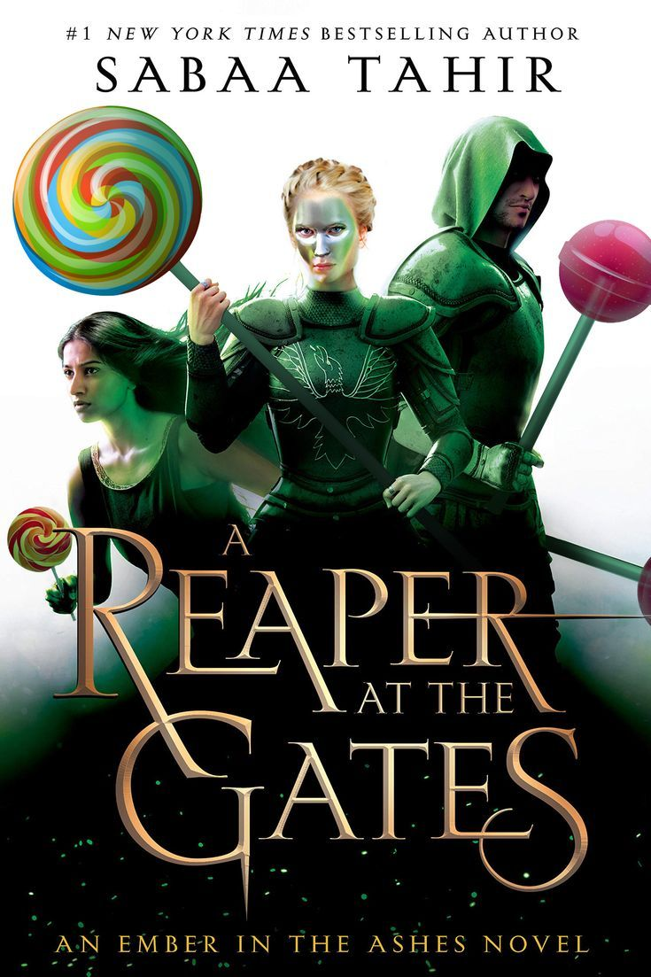 A Reaper at the Gates lollipops