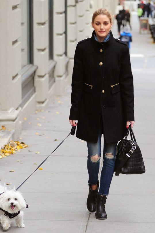 Olivia Palermo New York City December 2014 – Star Style ...