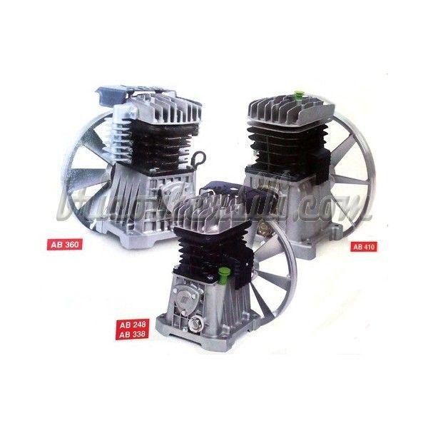 Gruppo Pompante Per Compressore A Cinghia Mod Ab 268 Pistone