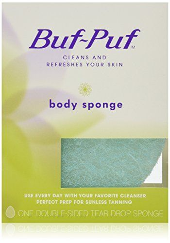 Bufpuf Doublesided Body Sponge Pack Of 6 Click On The Image For Additional Details This Is An Affiliate Link Body Sponge Best Body Scrub