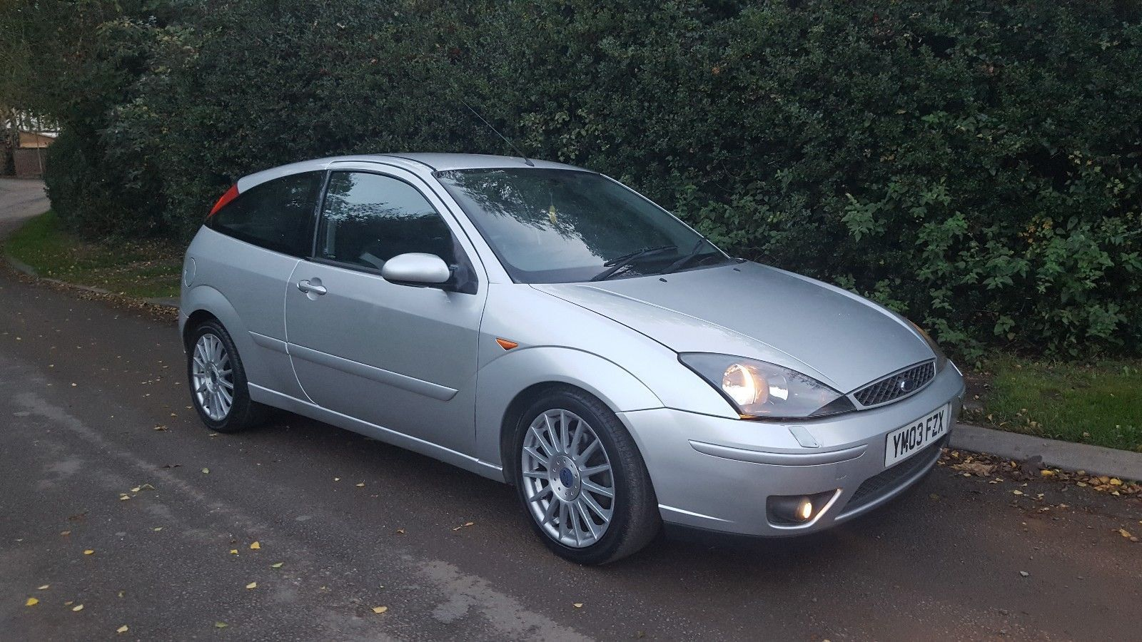 This Ford Focus St170 Silver 3 Door Moondust Silver No Reserve Is For Sale Ford Focus Ford Moon Dust