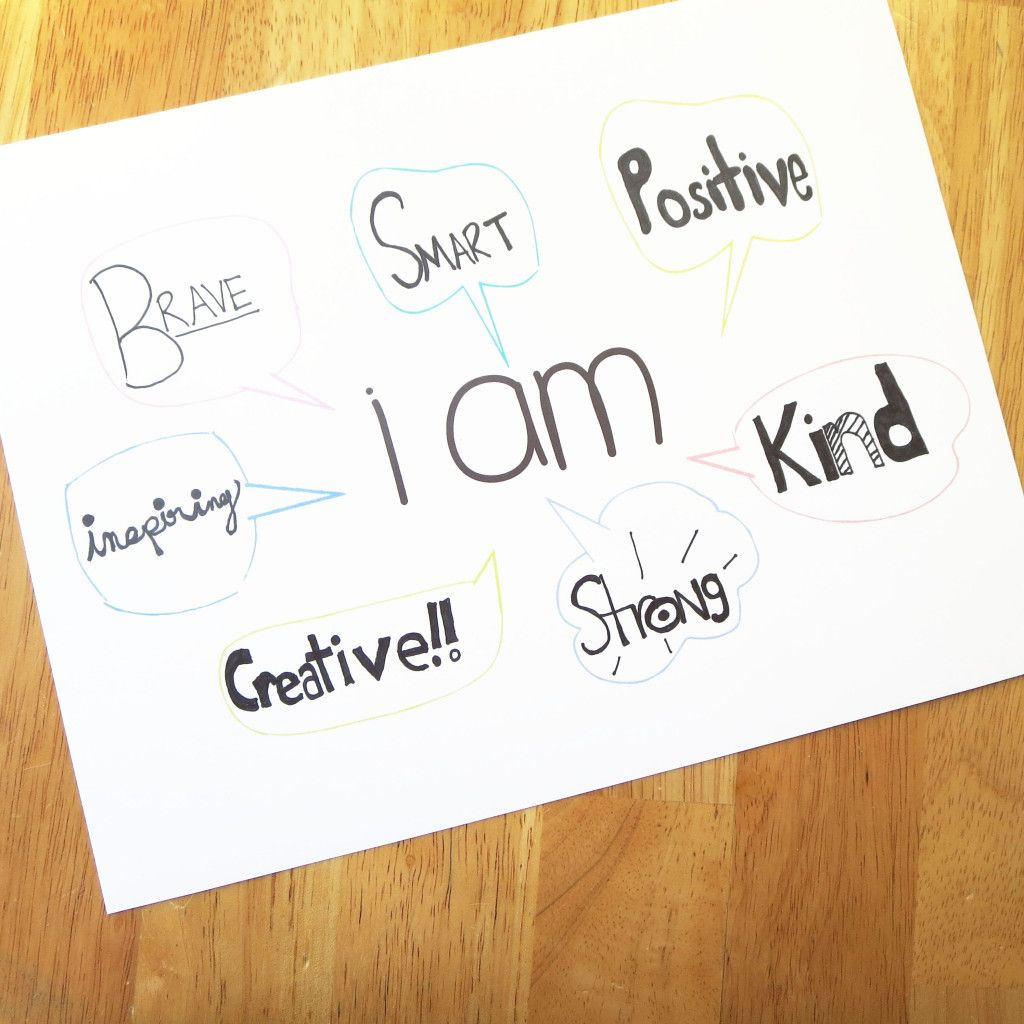 Beating The Bullies With Positivity Printable