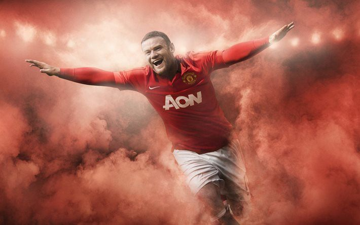 Get Good Looking Rooney Manchester United Wallpapers Wayne Rooney, football, 5k, athletes, Manchester United, Premier League, England
