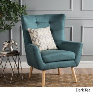 Tamsin Mid-Century Fabric Club Chair by Christophe