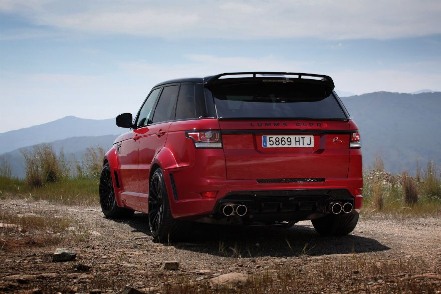 Range Rover Sport Lumma Clr Rs Red Range Rover Pinterest Range