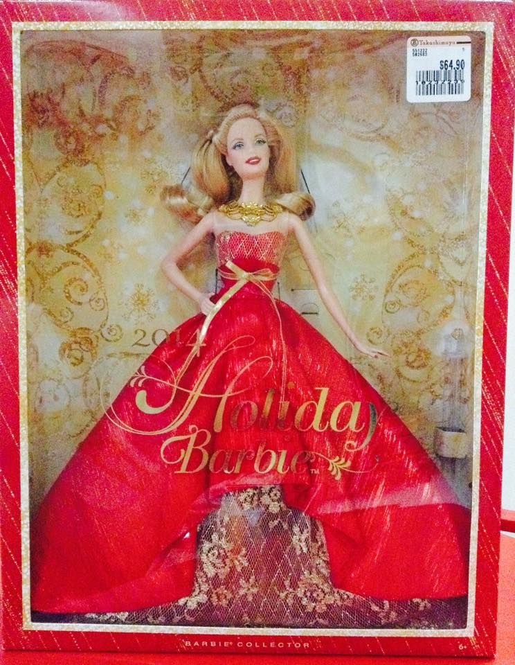 2014 Holiday Barbie™ Doll Designed by: Linda Kyaw Release ...