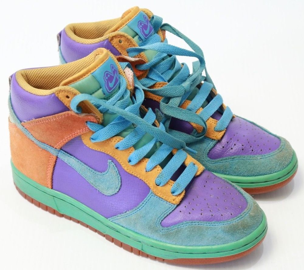 Nike 6.0 Dunk High Multicolor Athletic
