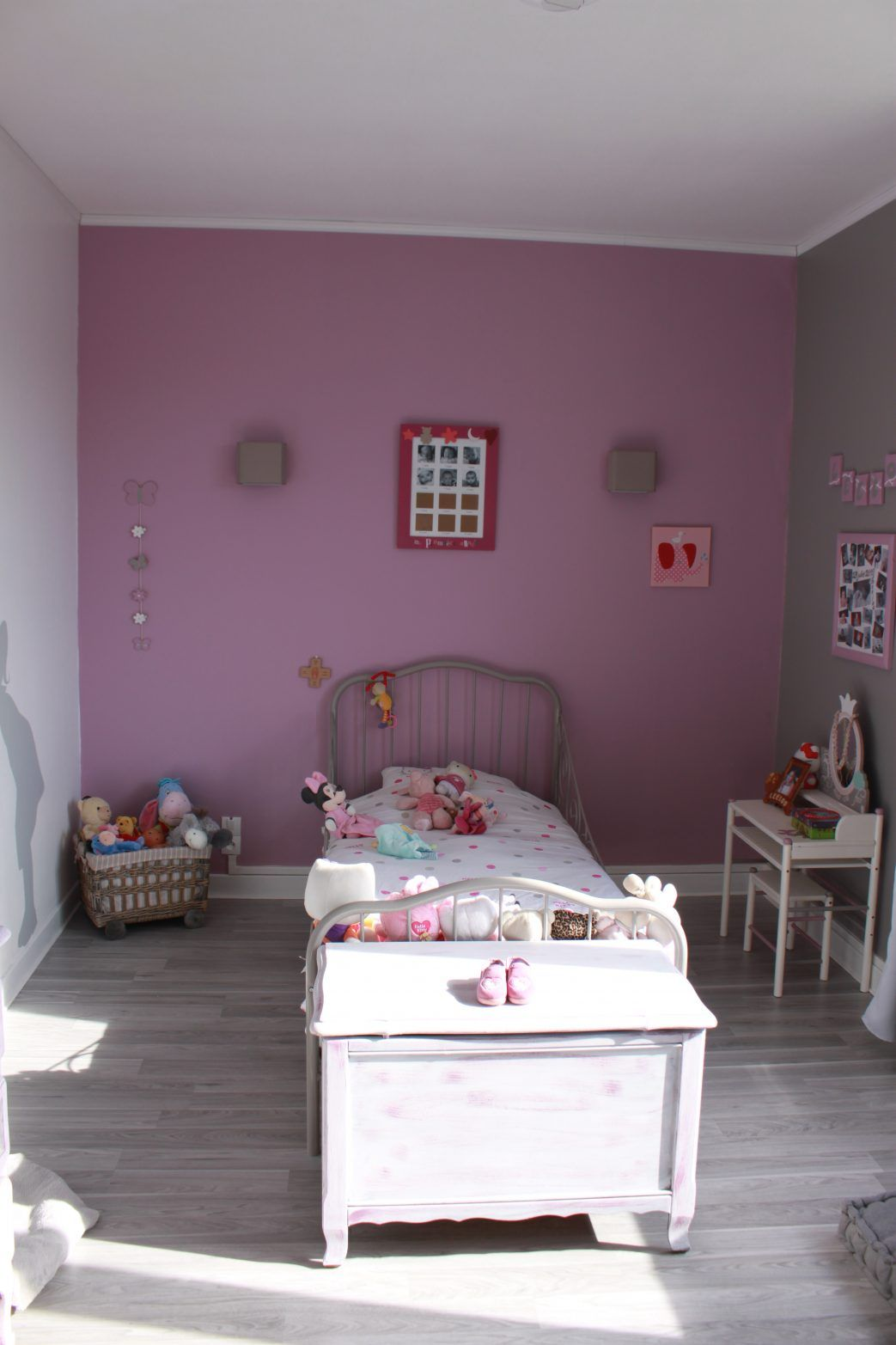photo chambre fille deco complete montessori garcon gris best idee ...