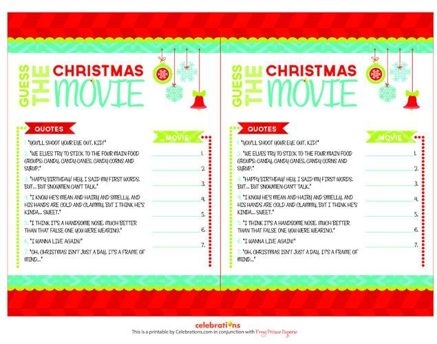 Christmas Office Party Game Ideas Part - 49: Fun And Easy Free Printable Christian Triva Game Ideas For Any .