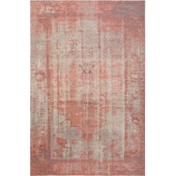 Photo of benuta Trends Flachgewebeteppich Frencie Rosa 120×180 cm – Vintage Teppich im Used-Look