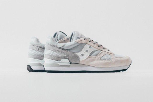 Saucony Shadow Original Casual Shoes Men Grey/White