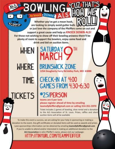 Bowling Fundraiser Flyer Template Bowling Pinterest - benefit flyer template
