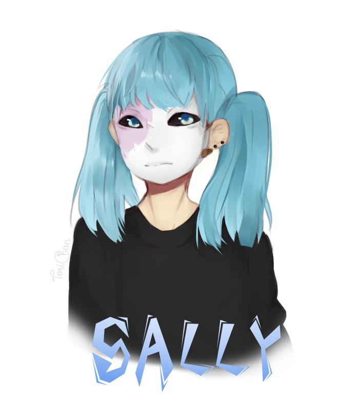 SallyFace by ToriChanSenpai.deviantart.com on @DeviantArt