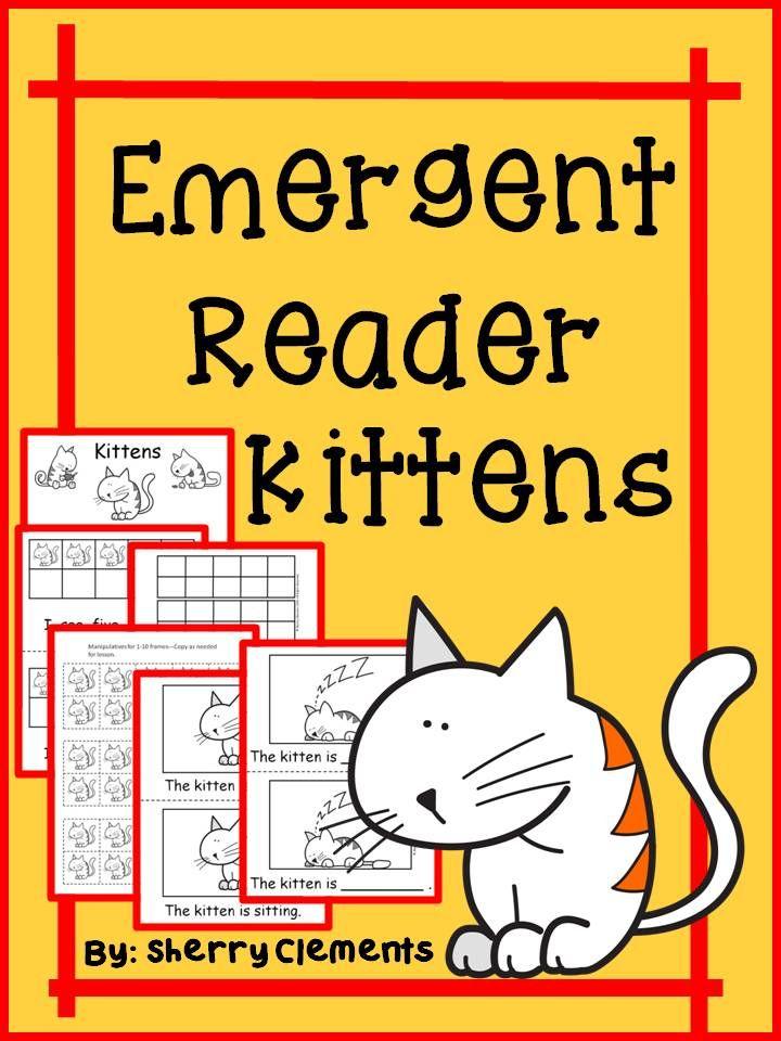 Kittens Emergent Reader   Reading_in_First   Pinterest