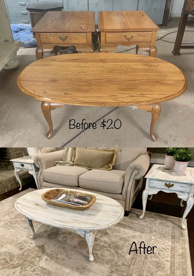 Farmhouse Coffee Table Makeover Coffee table makeover