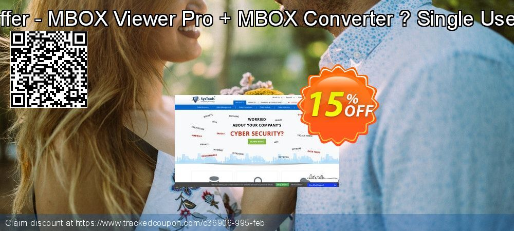 Bundle Offer - MBOX Viewer Pro + MBOX Converter Coupon 15% discount