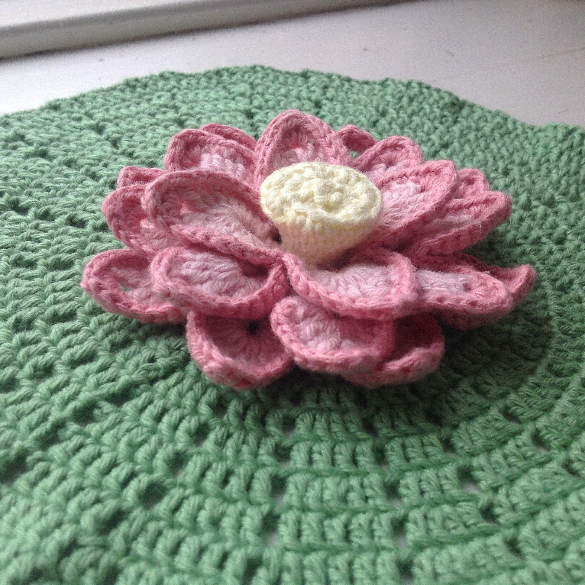 Suvis crochet lotus flower free crochet pattern with pictures suvis crochet lotus flower free crochet pattern with pictures and chart bankloansurffo Choice Image
