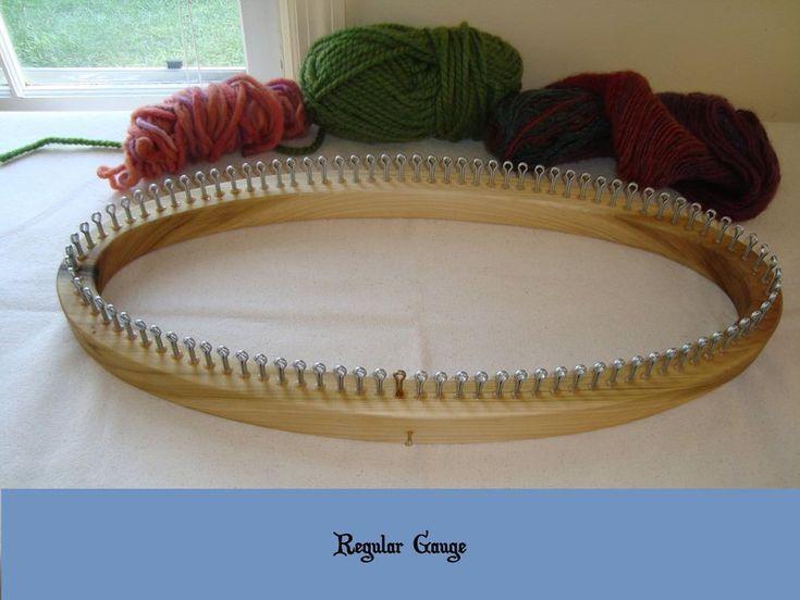 Prayer Shawl Knitting Loom - 63 Peg Extra Large Ga #prayershawls