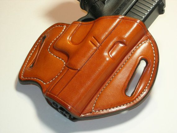 GIBSON GLOCK 19 23 32 leather holster right by