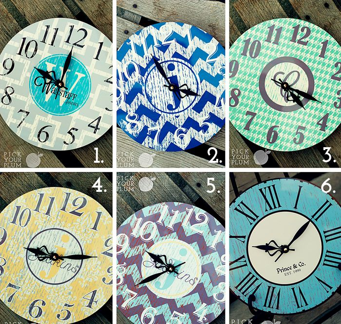 Hurry! Time's a-Wastin'! Clocks for 53% Off! | Pick Your Plum