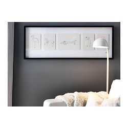 ikea olunda picture motif created by pablo picasso the motifs are raised to create a free. Black Bedroom Furniture Sets. Home Design Ideas
