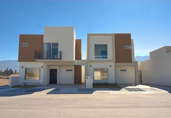 Hermosas fachadas de casas modernas y simples 21 for Casas modernas planos y fachadas