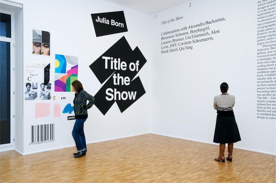Graphic Design Muur : Reading forms u2013 exhibiting graphic design exhibitions dd