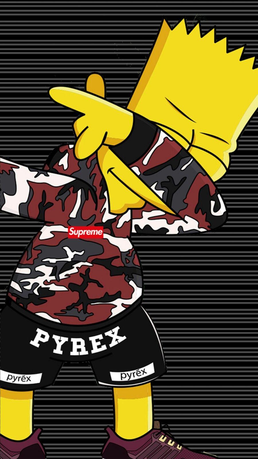 Bart Rap Fondos De Pantalla Nike Imagenes De Bart Fondos De