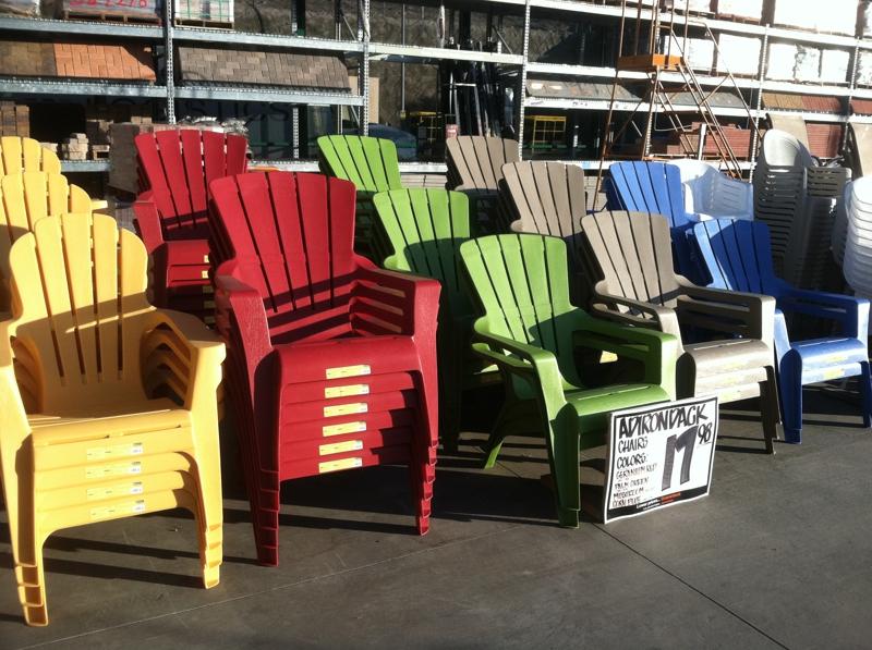 Plastic Adirondack Chairs Home Depot Plastic Adirondack Chairs