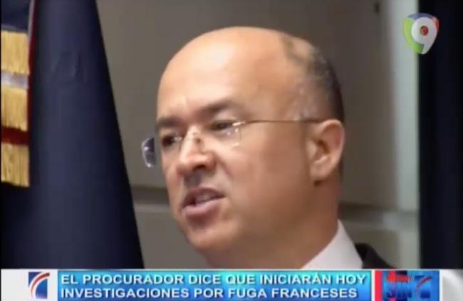 El Procurador Dice Que Iniciarán Hoy Investigaciones Por Fuga De Pilotos Franceses #Video