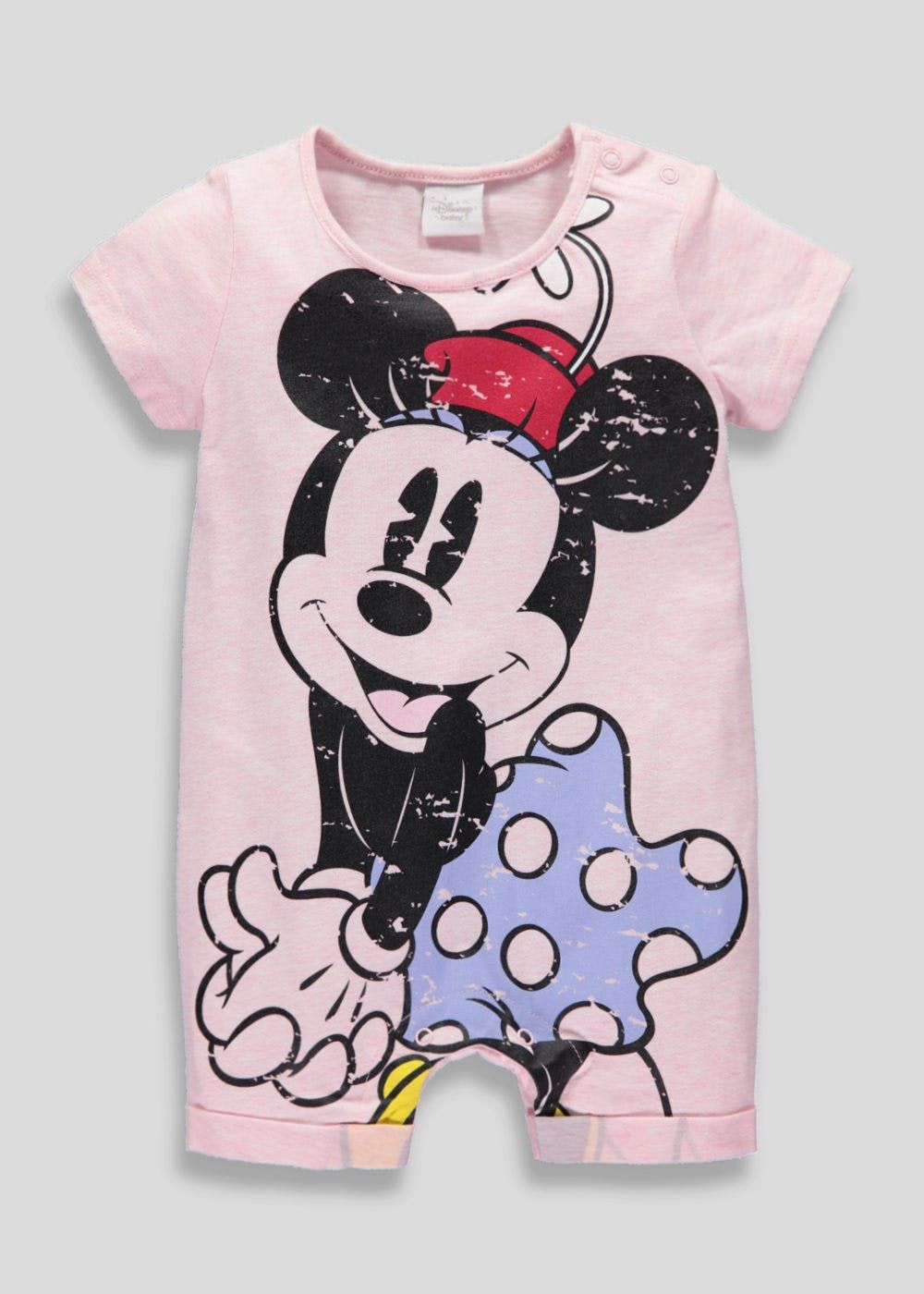6a620f9a3 Kids Disney Minnie Mouse Romper (Newborn-12mths) | Pastel Clothes ...