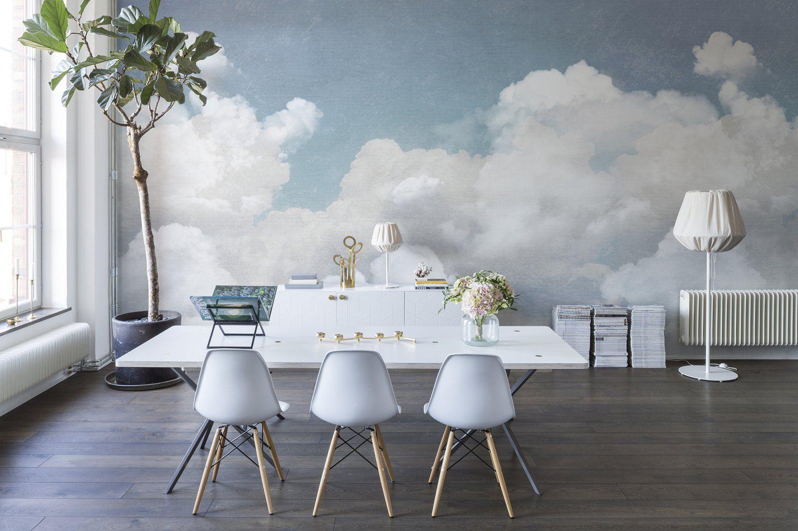 Cuddle Clouds Cloud wallpaper, Wall murals, Home