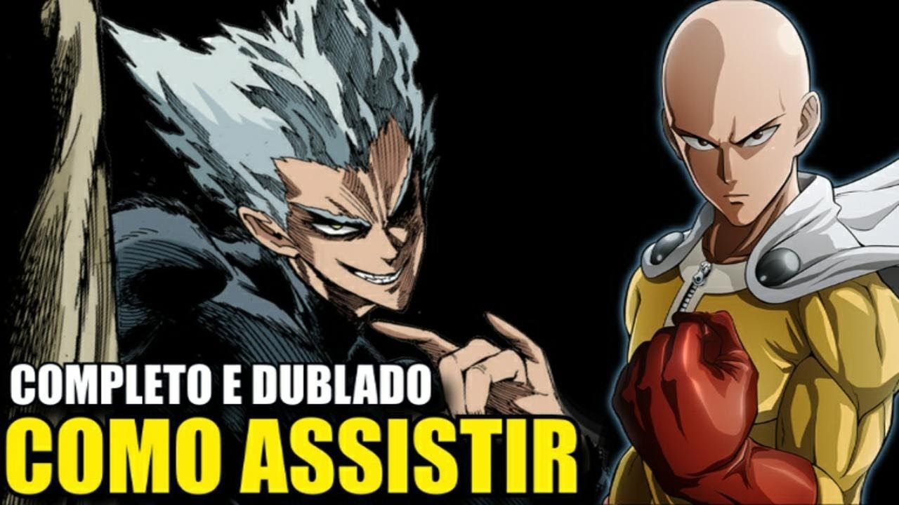 Como Assistir One Punch Man Dublado 2 Temporada 2020 Anime Online