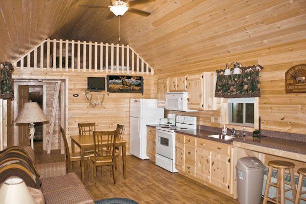 Http://www.mycozycabins.com/settler Log Cabin Custom U Shaped Kitchen |  House | Pinterest | Shapes, Cabin And Logs