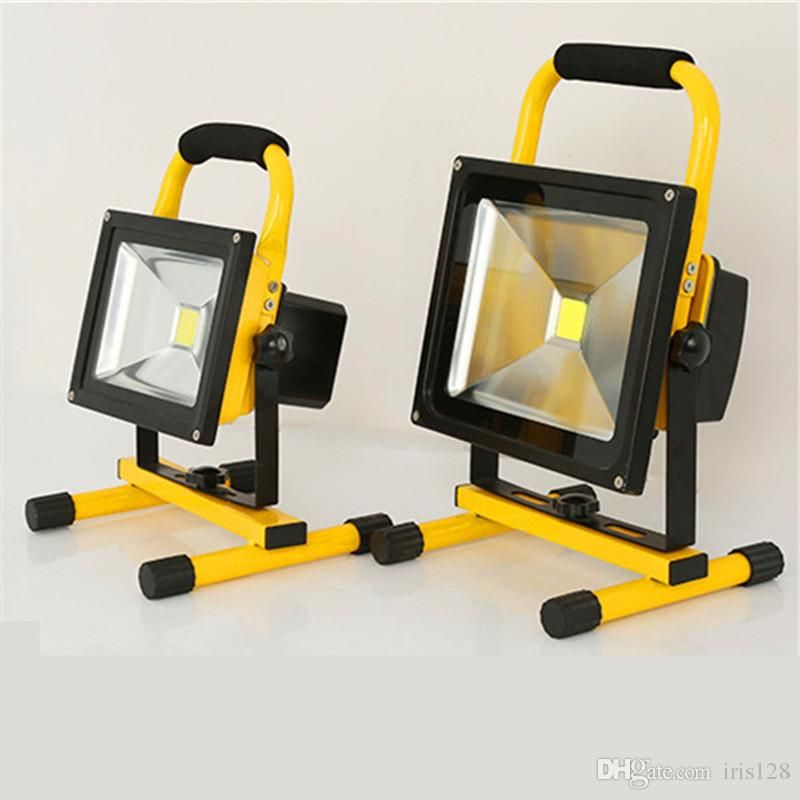 10w Led Flood Light Rechargeable In 2020 Led Flood Flood Lights Led