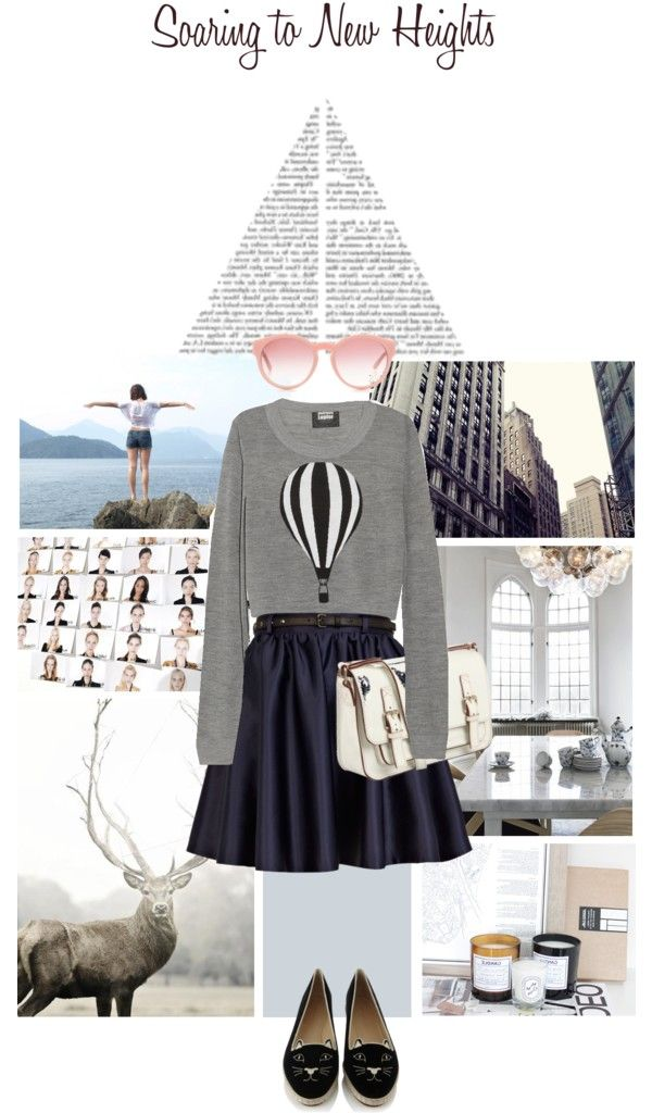 """""""Soaring to new heights"""" by jemimap ❤ liked on Polyvore"""