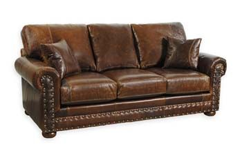 Western Leather Sofa 33 Sofas And Loveseats