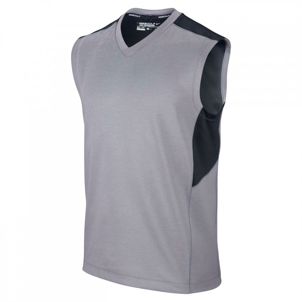 Nike Dri-Fit  Wool Vest Grey