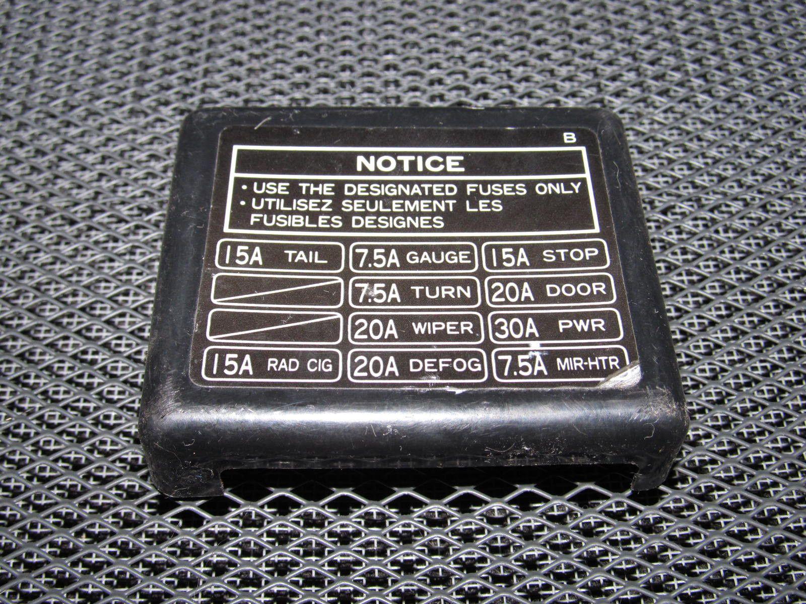 1995 Nissan 240sx Interior Fuse Box Diagram   Brokeasshome