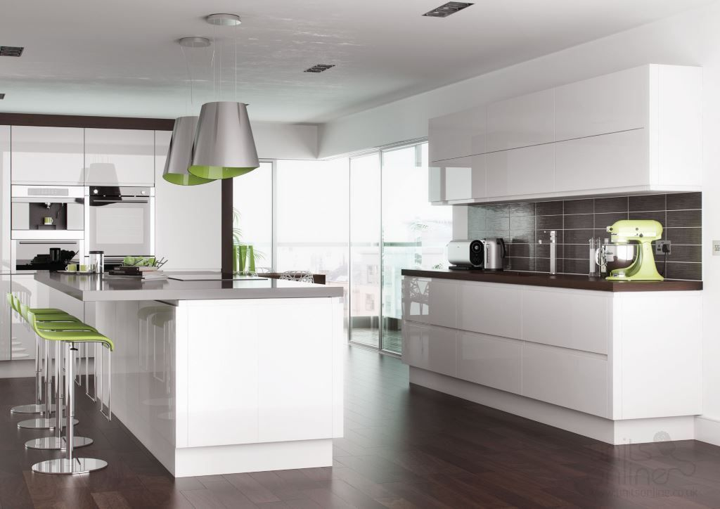 Pin By Units Online On Gloss Kitchen Designs Handleless Kitchen