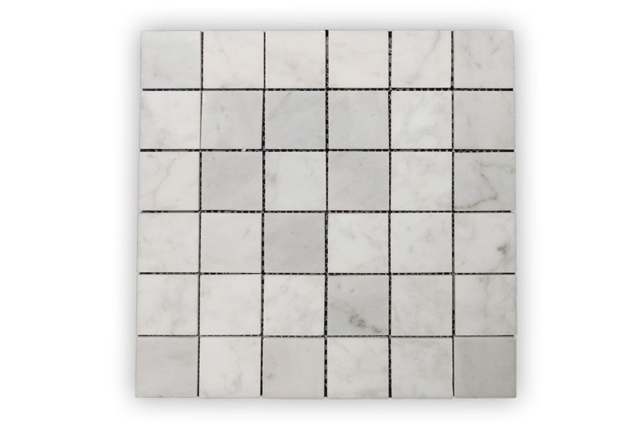 Bianco Carrara Polished Mosaic