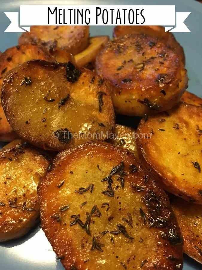Melting Potatoes #russetpotatorecipes