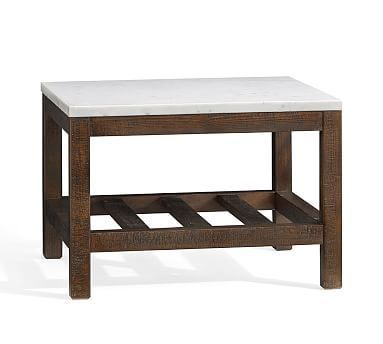 Connor Coffee Table Marble کفسابی و نماشویی علیرضا Pinterest - Pottery barn square coffee table