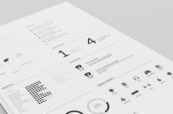Beautiful Creative Designers Curriculum Vitae TemplateThis Is